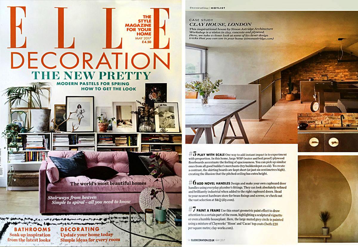 10 mejores revistas de diseño de interiores del Reino Unido Elle Decoration.