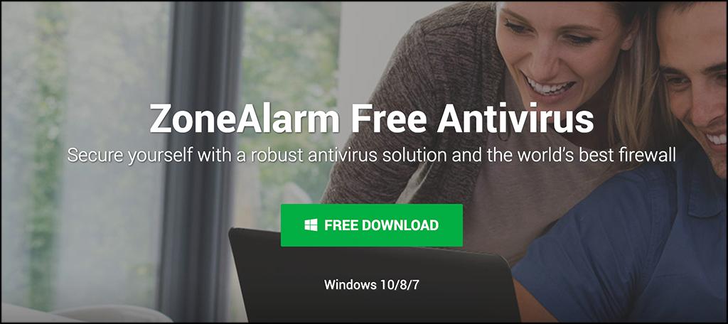 ZoneAlarm antivirus gratuito