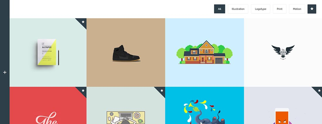 Flying - Interactive Template Portfolio in PHP