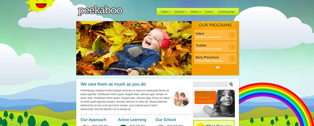 Population 2 _ Item _ Peekaboo PHP template for web designers