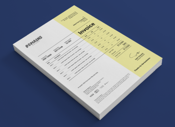 Paquete Freebie Invoice