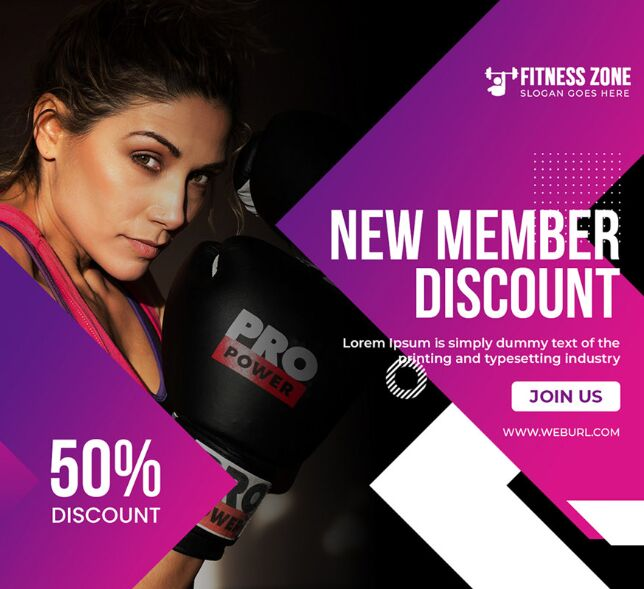 Paquete Fitness Banner