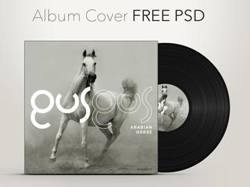 CD gratis Portada del álbum Graphic Psd