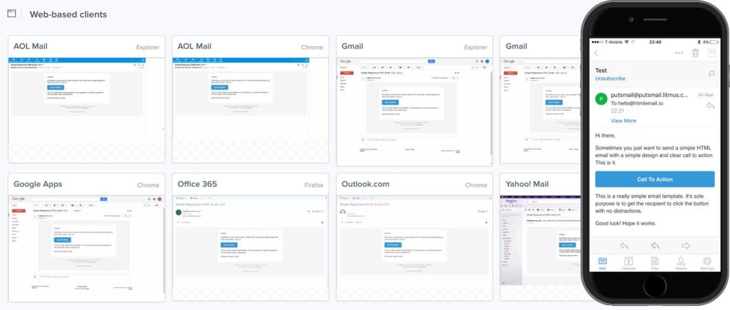 Plantilla de correo electrónico HTML realmente simple y receptivo
