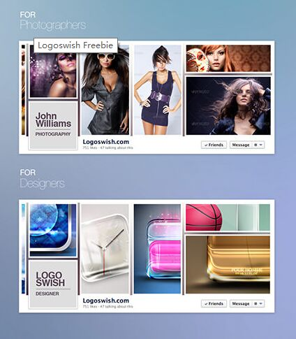 Facebook Timeline Cover Exclusive PSD Freebie
