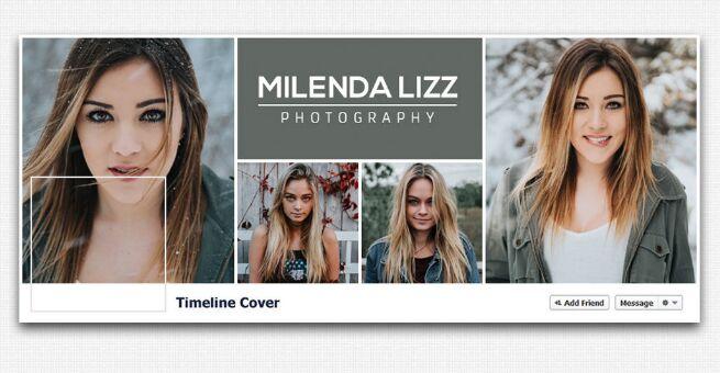 Plantilla de línea de tiempo de portada de Facebook gratuita para la revista Fashion