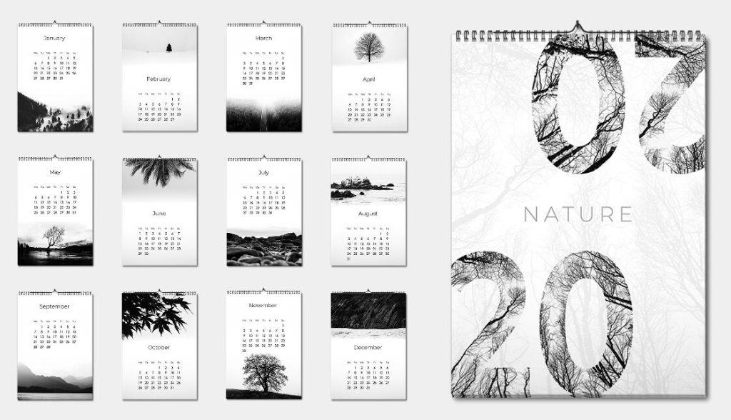 Calendario mínimo 2020 PDF
