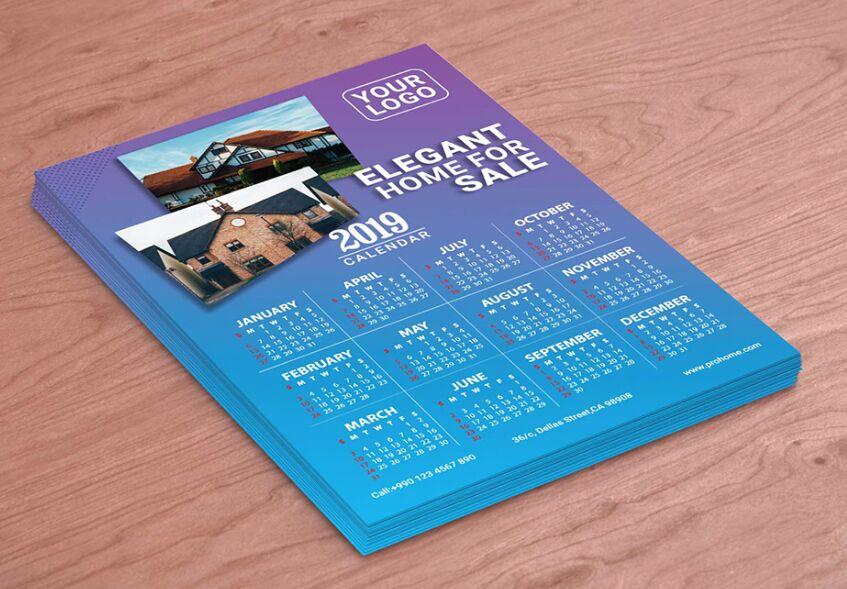 Calendario 2019 Descarga gratuita
