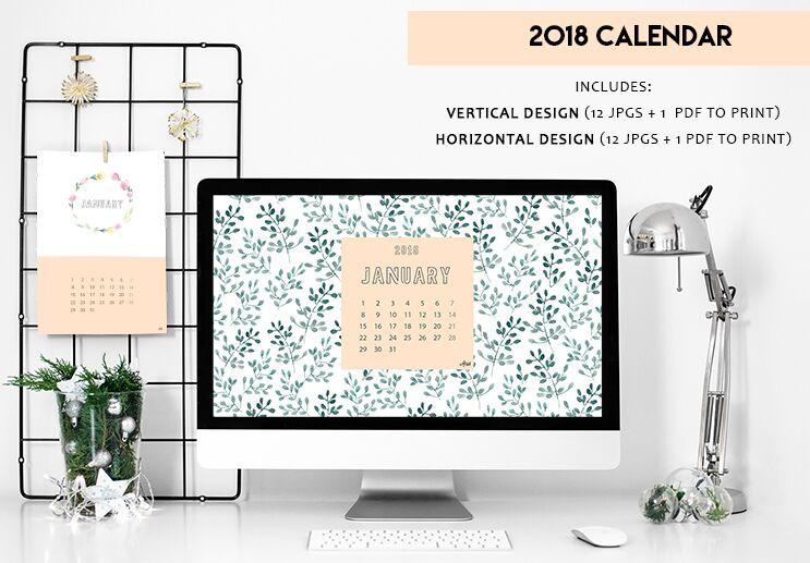 DESCARGA GRATUITA Calendario 2018
