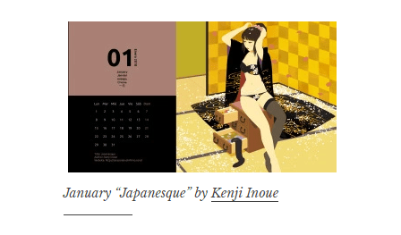 Calendario gratuito 2018