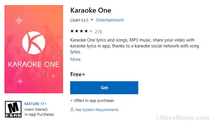 Karaoke One Microsoft Store Min
