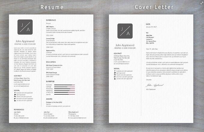 Currículum mínimo y carta de presentación