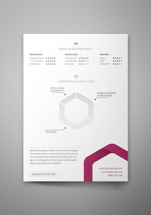 Currículum vitae gratis (plantilla de diseño)