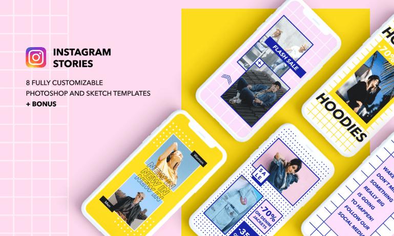 8 plantillas de Instagram