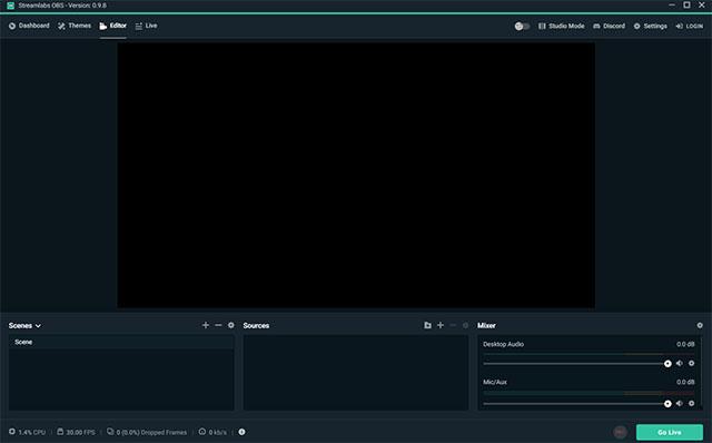 Software de grabación de juegos Streamlabs OBS