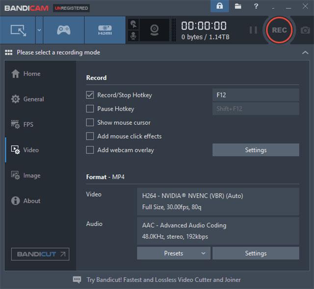Software de grabación de juegos