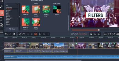 mejor editor de videos para instagram - Clips Movavi