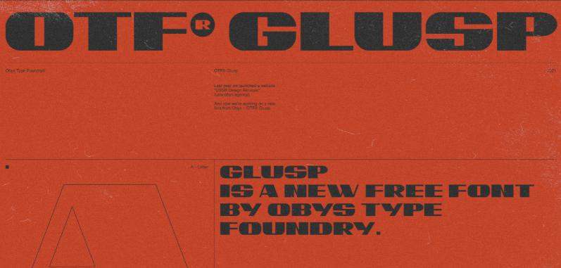 Fuente OTF GLUSP