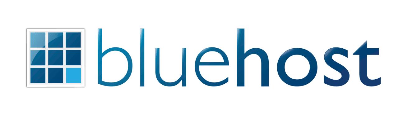 Logotipo de Bluehost