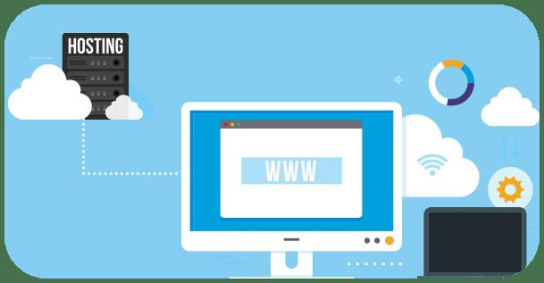 cómo funciona el alojamiento web