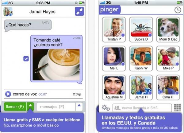 Llamadas internacionales y mensajes SMS gratis