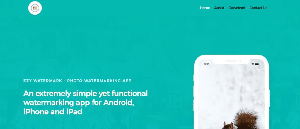eZY Watermark: aplicación de marca de agua