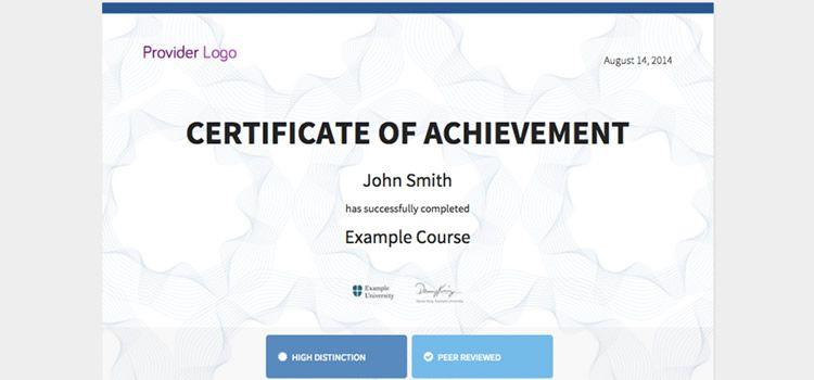 Diseño de aplicación web de currículum creativo acreditado