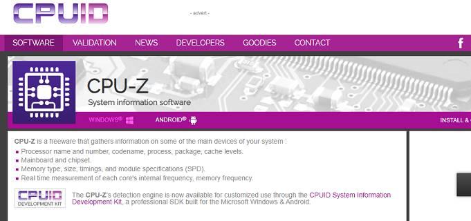 CPU - software Z