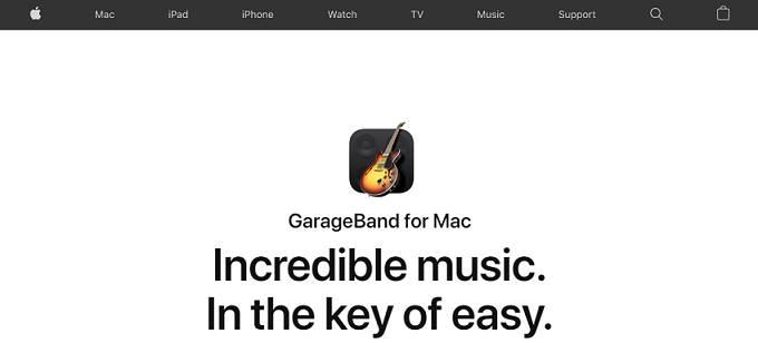 GarageBand beat haciendo software