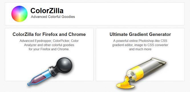 Sitio web de ColorZilla