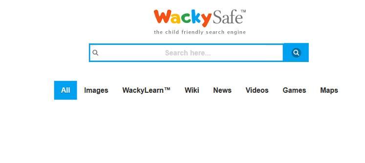Sitio web de Wacky Safe