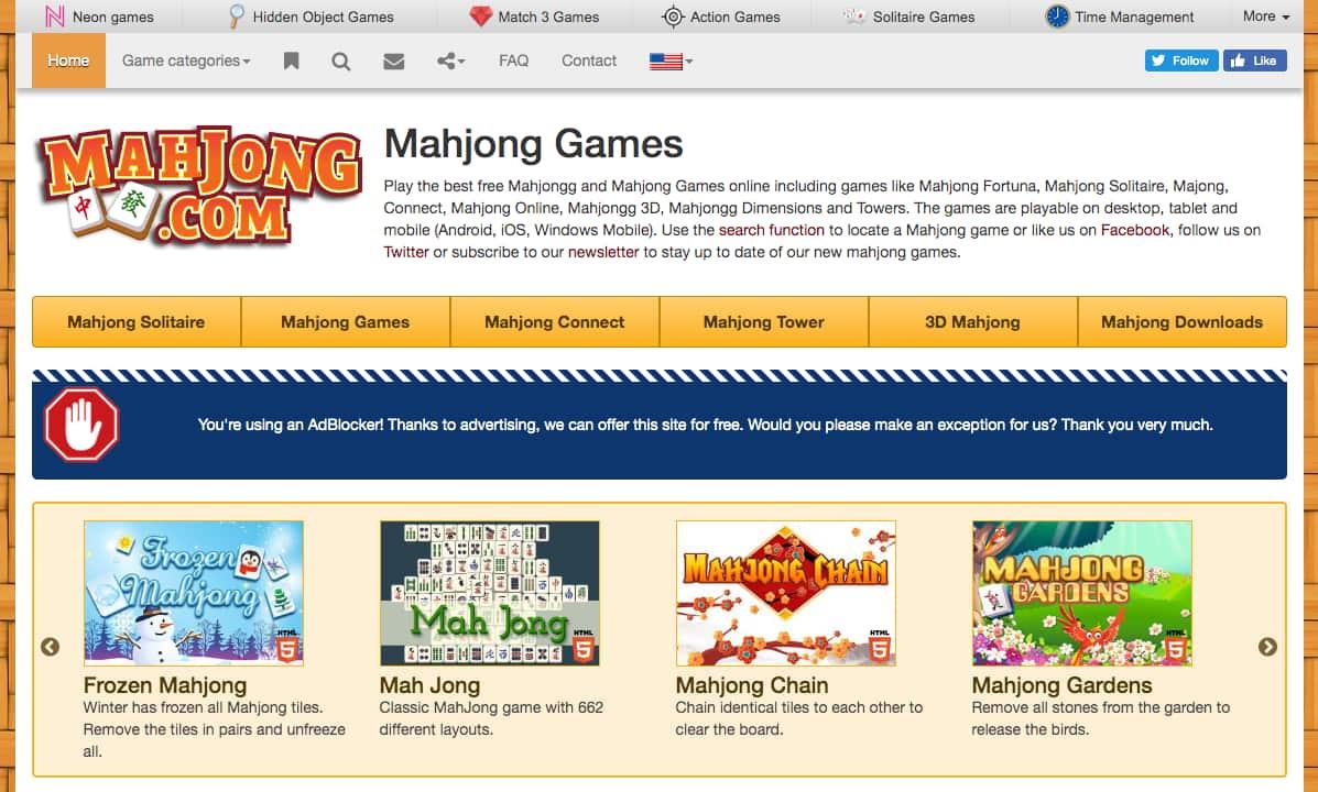 mahjong.com gratis online