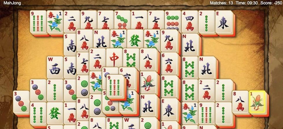 juego gratis mahjong