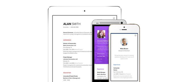 Representar el diseño creativo de la aplicación web de currículum