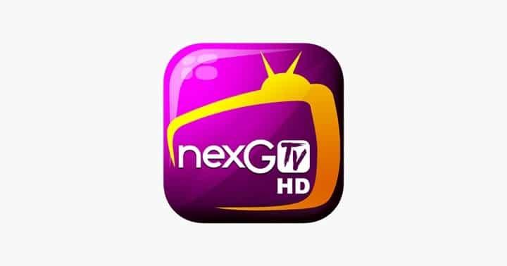 Aplicación NexG TV HD