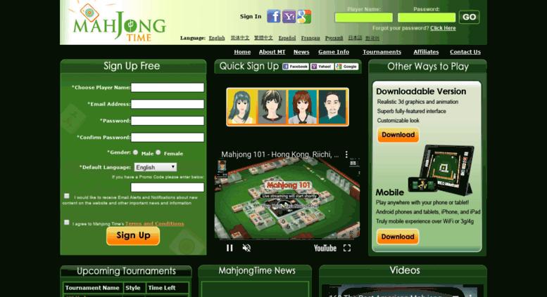 mahjongtime.com