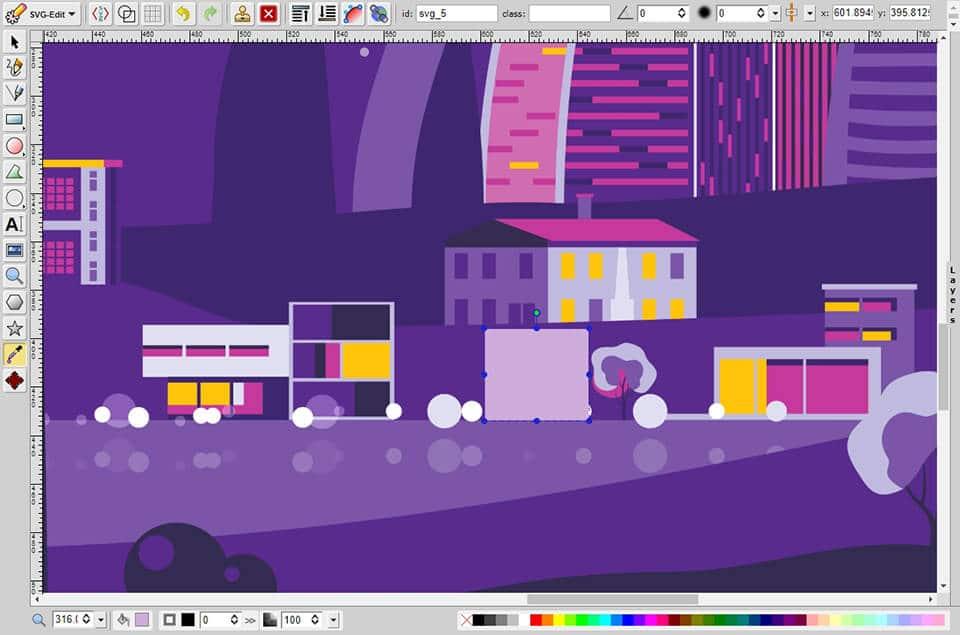 software de gráficos gratuito svg-edit