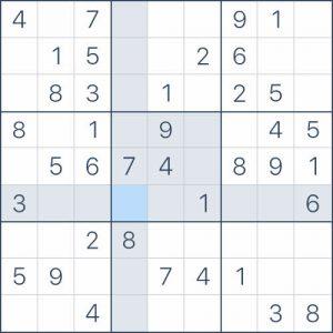 cómo jugar sudoku