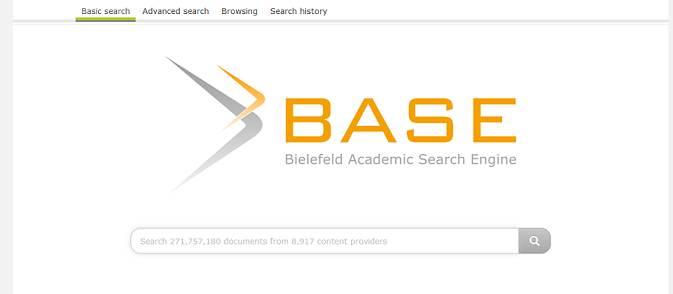 Sitio web de BASE