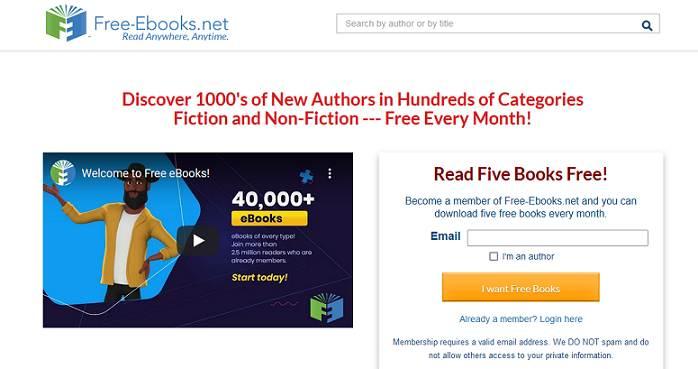 Sitio web de libros electrónicos gratuitos
