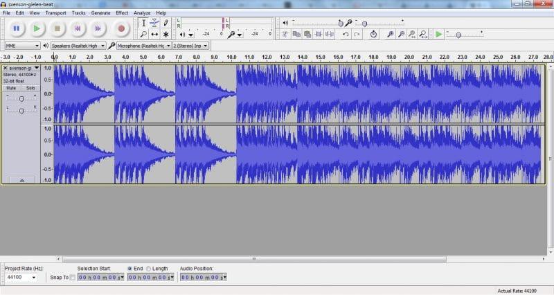 Audacity, el padrino de los editores de audio gratuitos