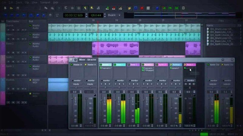 Qtractor, una nueva aplicación gratuita de edición de audio en línea para Linux