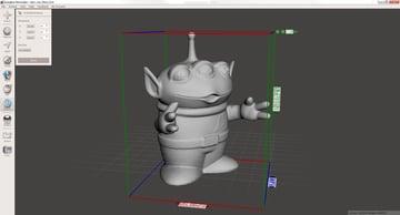 Imagen del mejor software de modelado 3D gratuito para principiantes: Meshmixer