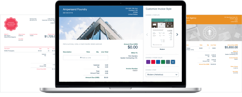 Software de facturación y facturación FreshBooks