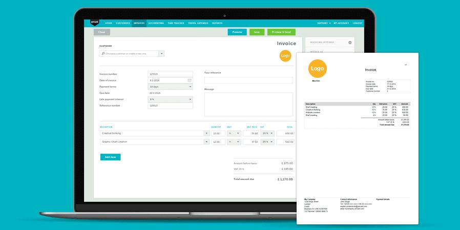 Software de facturación y facturación Zervant