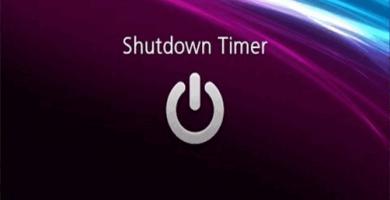 Temporizador de apagado de Windows 10