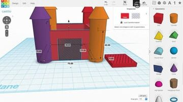 Imagen del mejor software de modelado 3D gratuito para principiantes: Tinkercad
