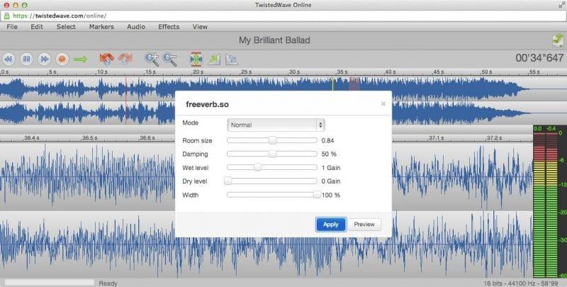 twistedwave es un nuevo software de audio o DAW en línea gratuito para usar en su estudio doméstico