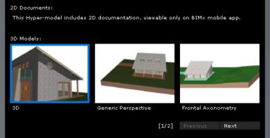 Modelos 3D en BIMx