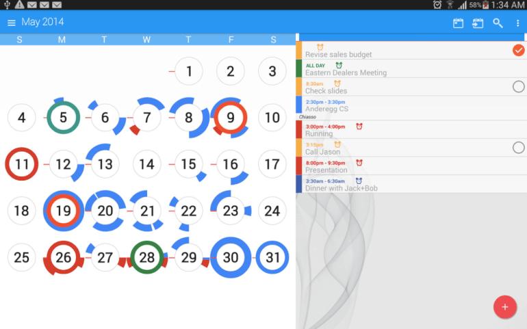 Software de calendario CloudCal